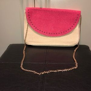 Escada Sorbetto Rosso Watermelon Crossbody Bag